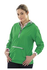 Charles River Apparel Chatham Anorak Pullover Kelly Green