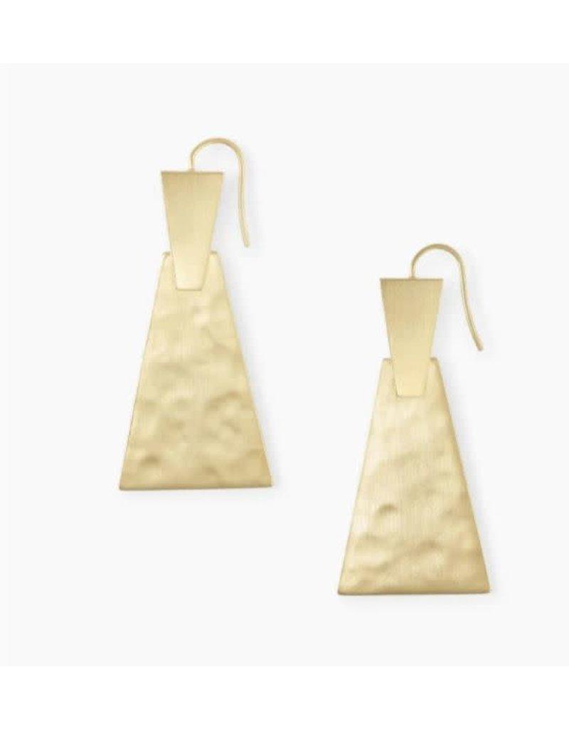 Kendra Scott Keerti Large Drop Earring Gold Metal