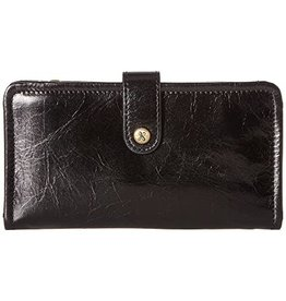 HOBO Torch Compact Wallet, Black