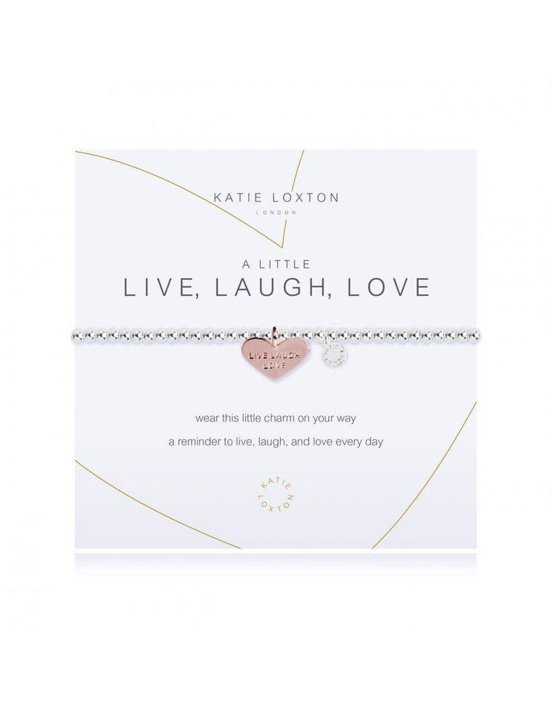 Katie Loxton A Little Live Laugh Love Bracelet