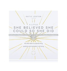 Katie Loxton A Little She Believed She Could So She Did Bracelet