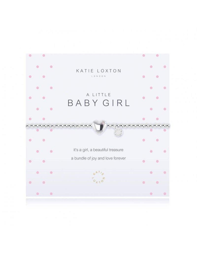 Katie Loxton A Little Baby Girl Bracelet