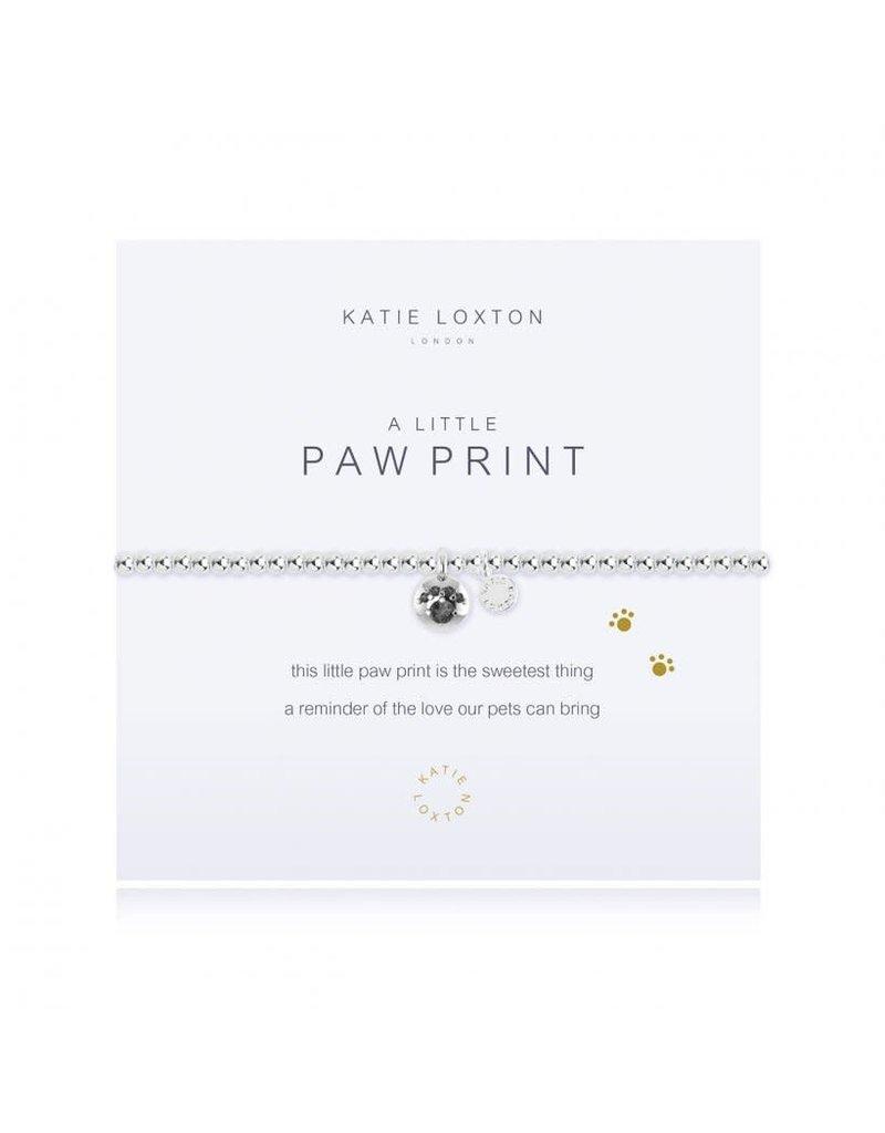 Katie Loxton A Little Paw Print Bracelet