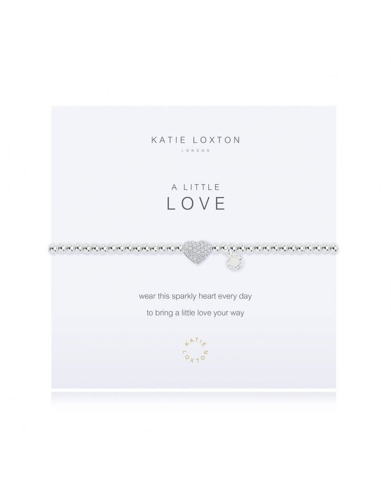 Katie Loxton A Little Love Pave Heart Bracelet