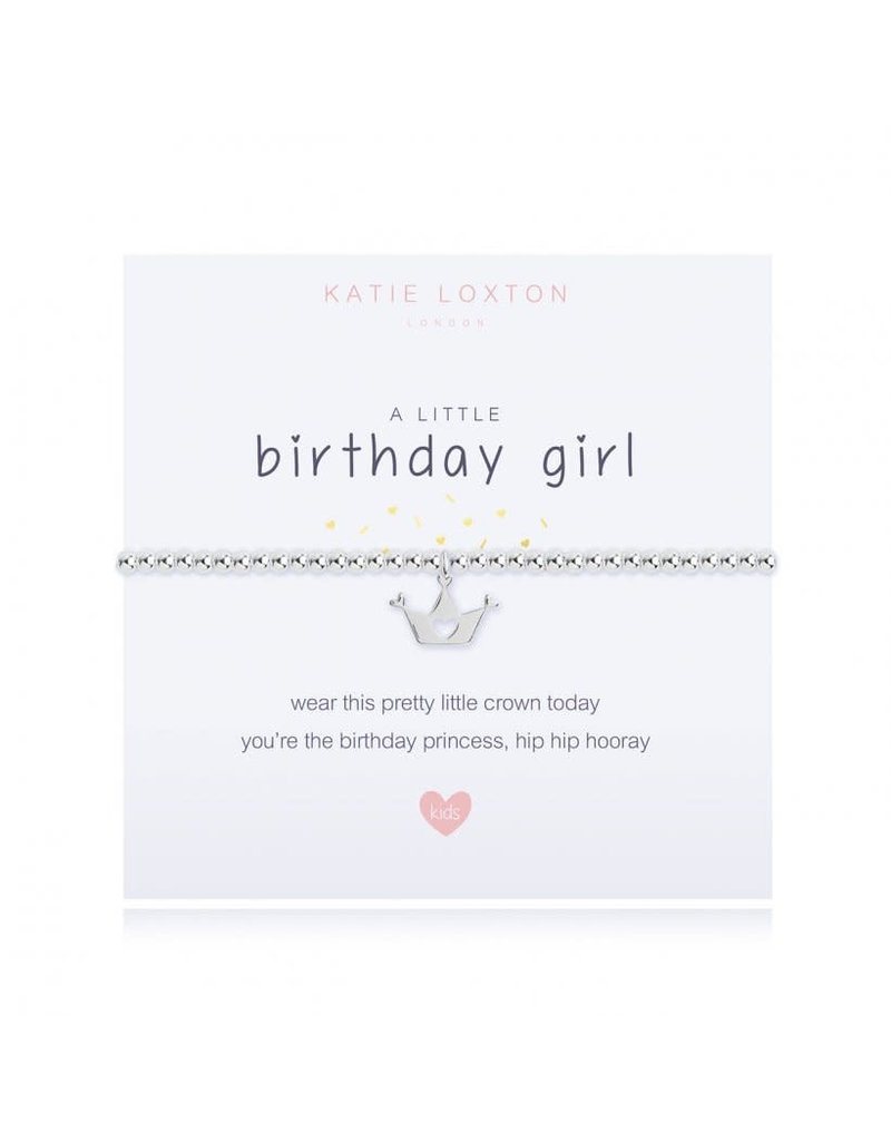 Katie Loxton A Little Birthday Girl Kids Bracelet