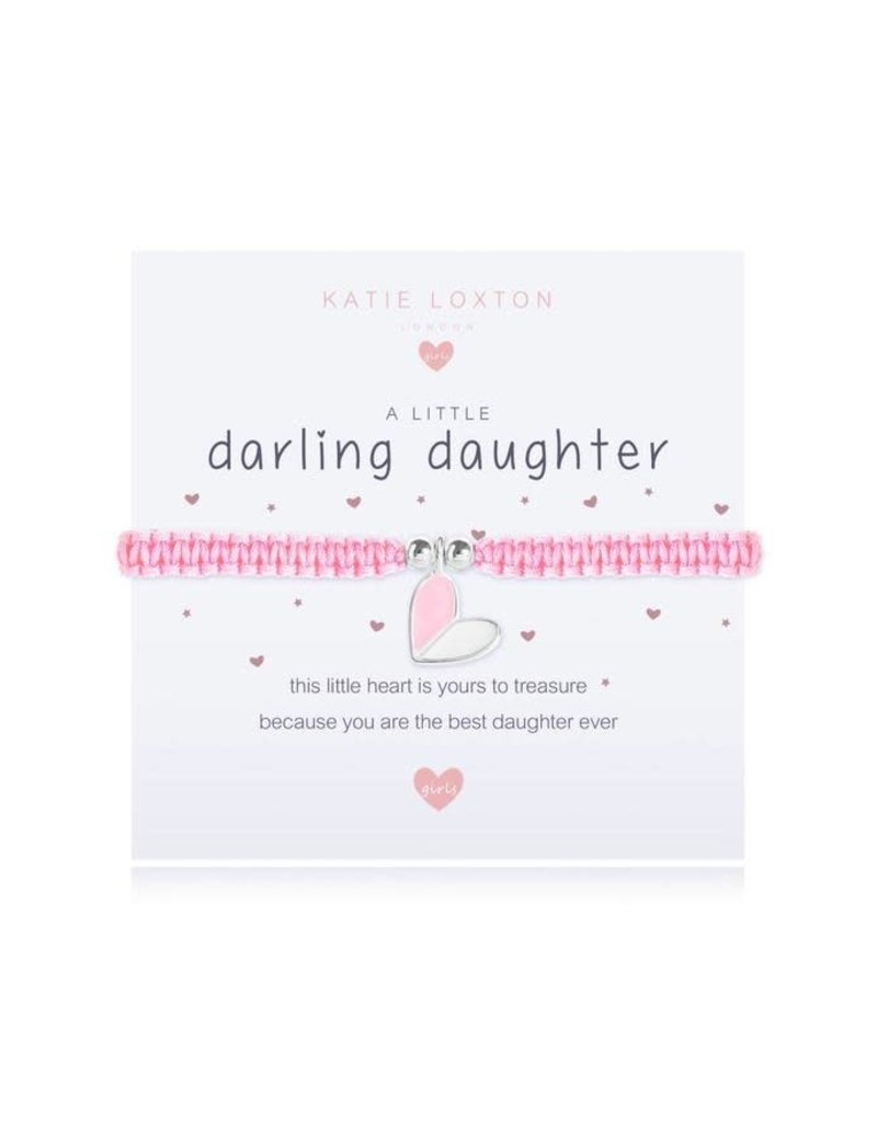 Katie Loxton A Little Darling Daughter Kids Bracelet