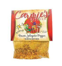 Carmie's Kitchen Baked Bacon Jalapeno Popper Dip Mix