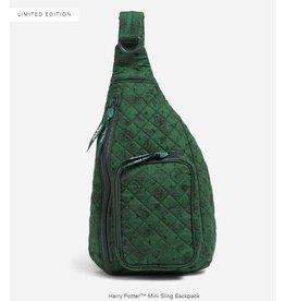 Vera Bradley Harry Potter Mini Sling Backpack, Slytherin