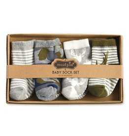 Mud Pie Camo Sock Set