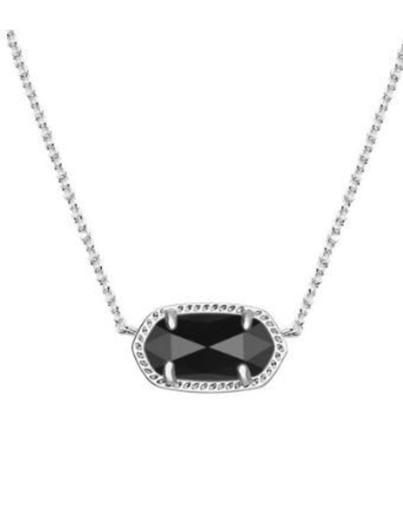 Kendra Scott Elisa Necklace  Black Opaque Glass - Kendra Scott