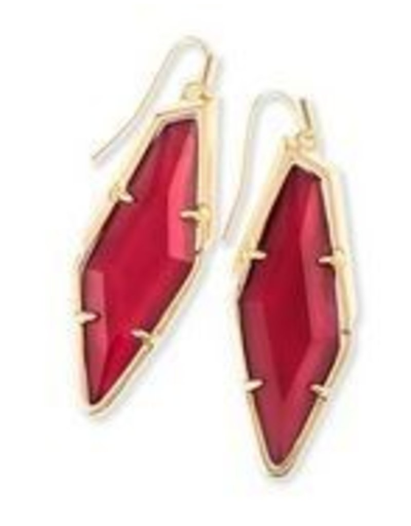 Kendra Scott Bexley Earring Burgundy Illusio