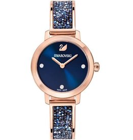 Cosmic Rock Watch, Metal Bracelet, Blue, Rose-Gold Tone