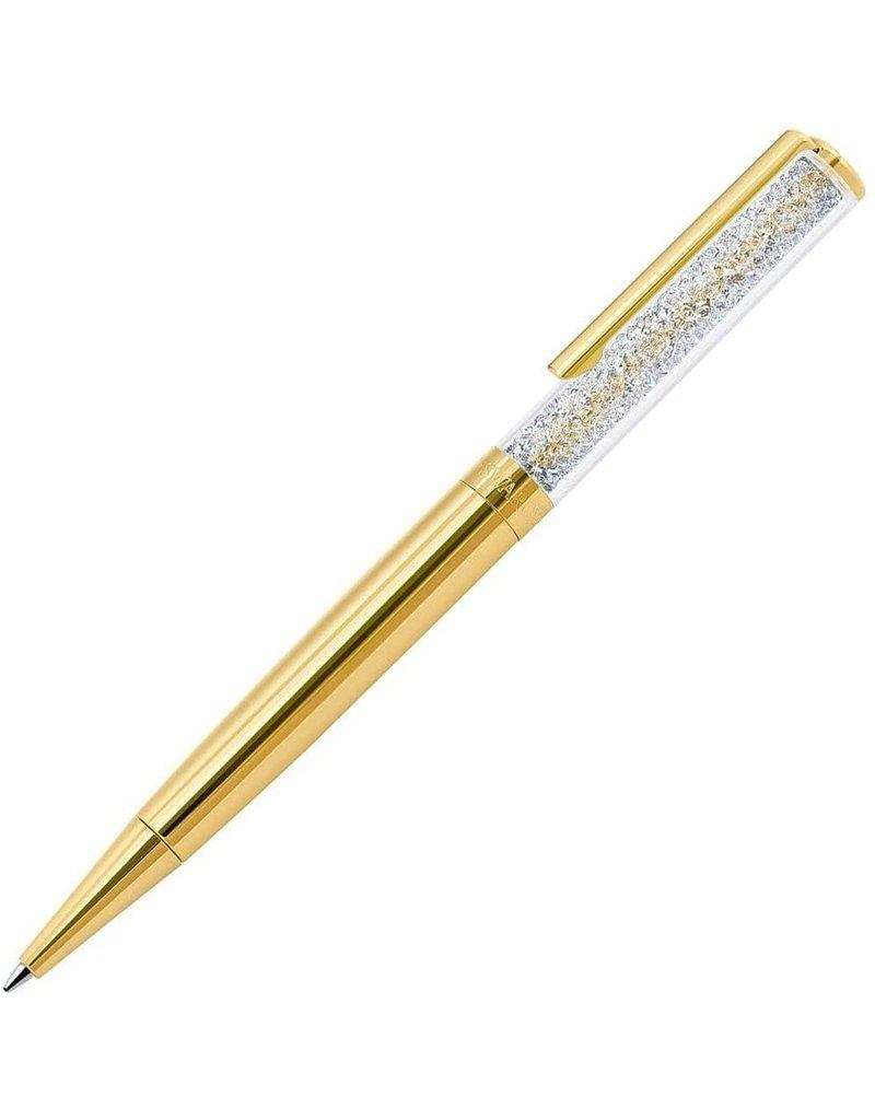 Crystalline Ballpoint Pen Gold