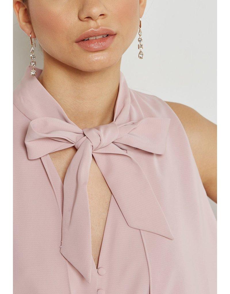 Lisanne Pierced Earrings, Rose Gold