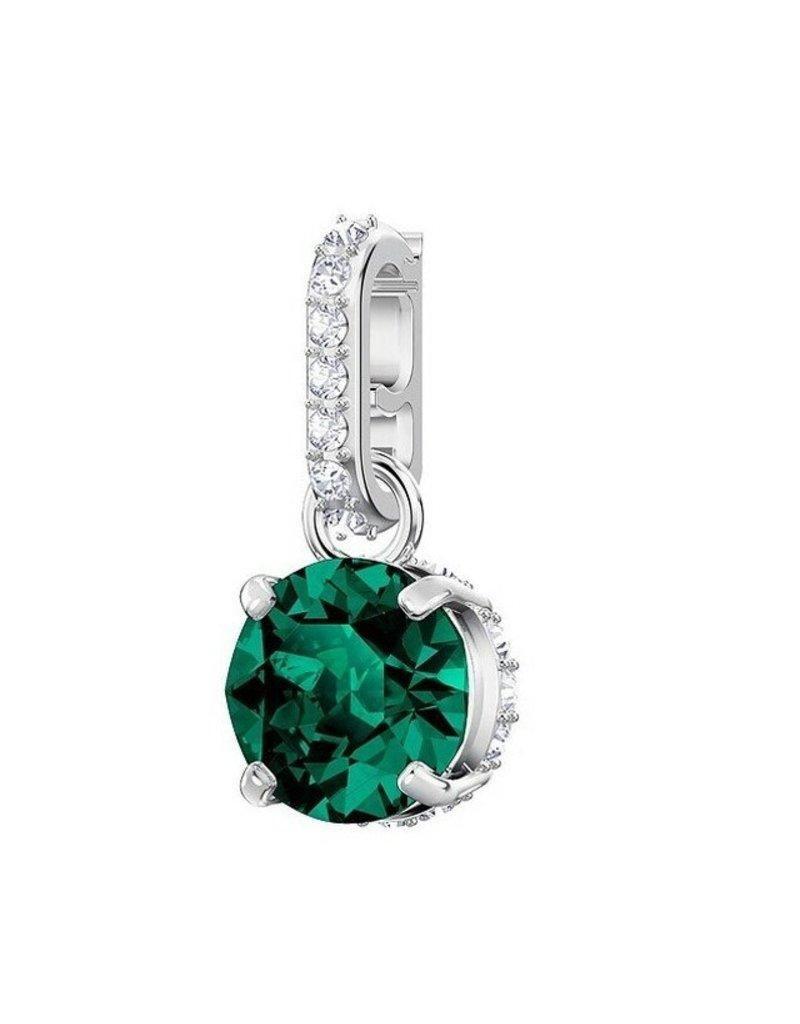 Swarovski Remix Birthstone Charm, May, Emerald, Rhodium