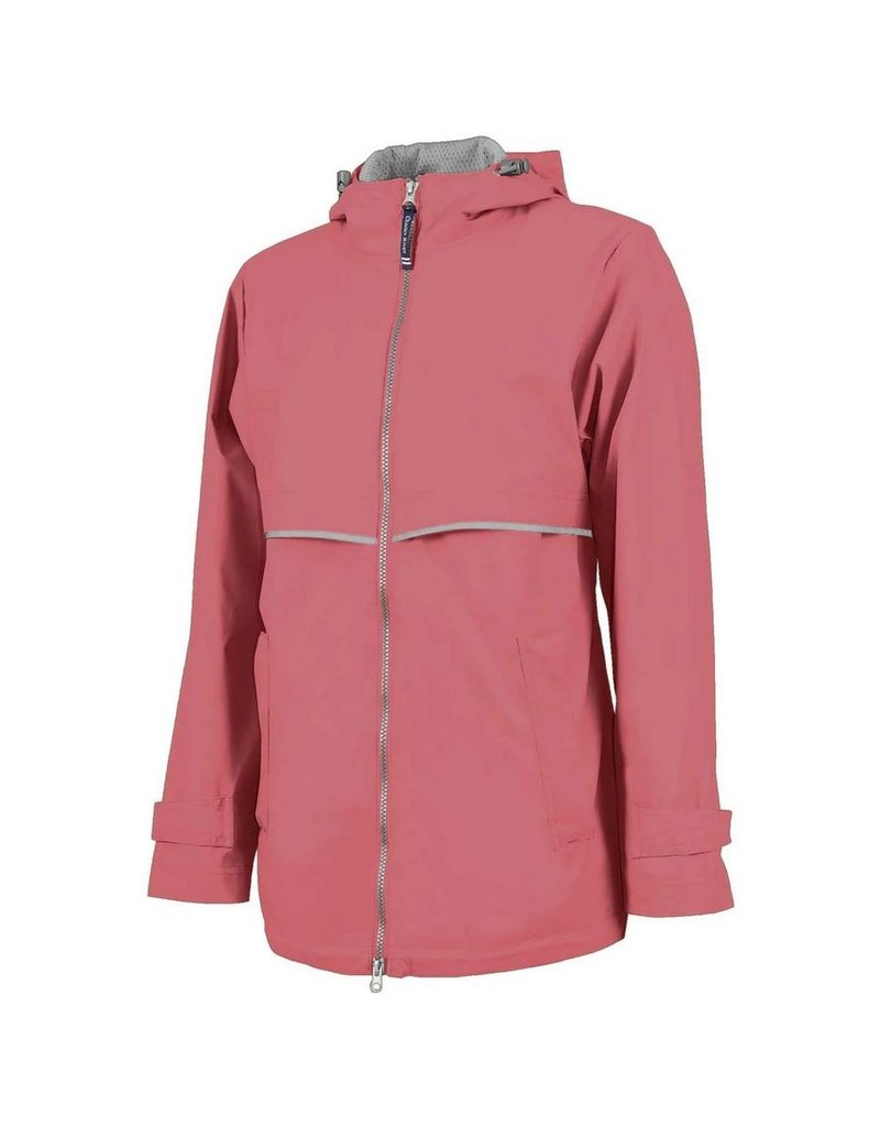 Charles River Apparel New Englander Rain Jacket Mauve