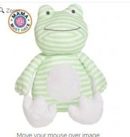 Lullaby Hope Frog Poetic Plush