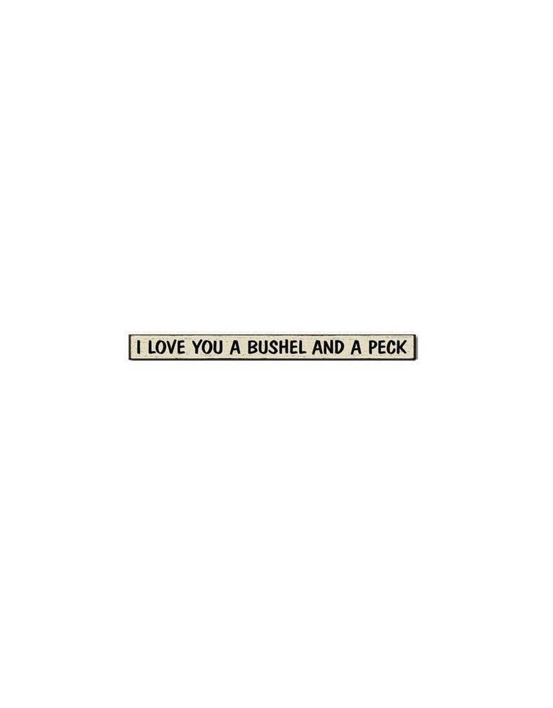 My Word Signs Skinnies I Love You Bushel Peck