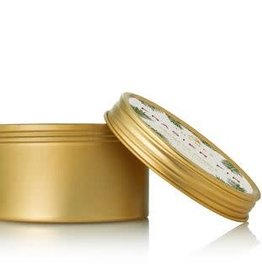 The Thymes Frasier Fir Gold Travel Tin Candle