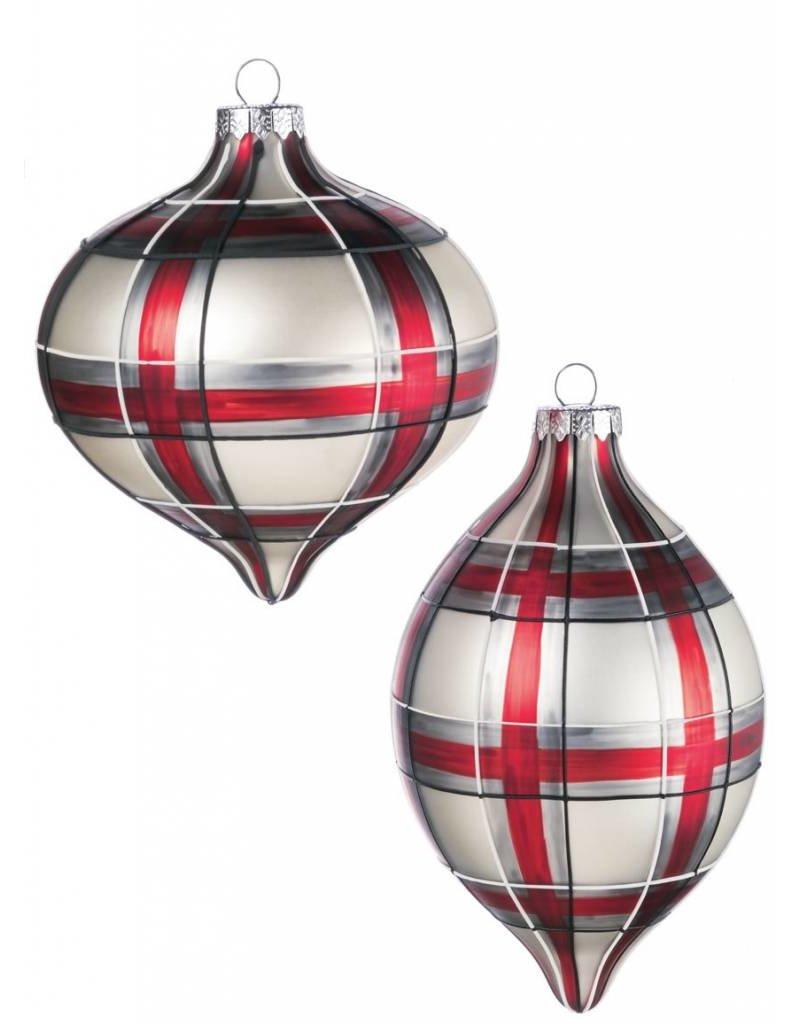 Plaid Ornament