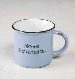 Natural Life Move Mountains Camp Mug