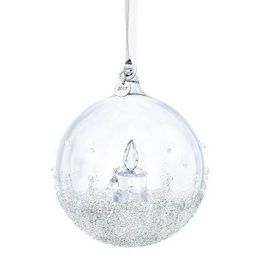 Swarovski Christmas Ball Ornament A.E. 2017 - Swarovski Christmas Ball Ornament A.E. 2017 - Nest Feathers Gifts