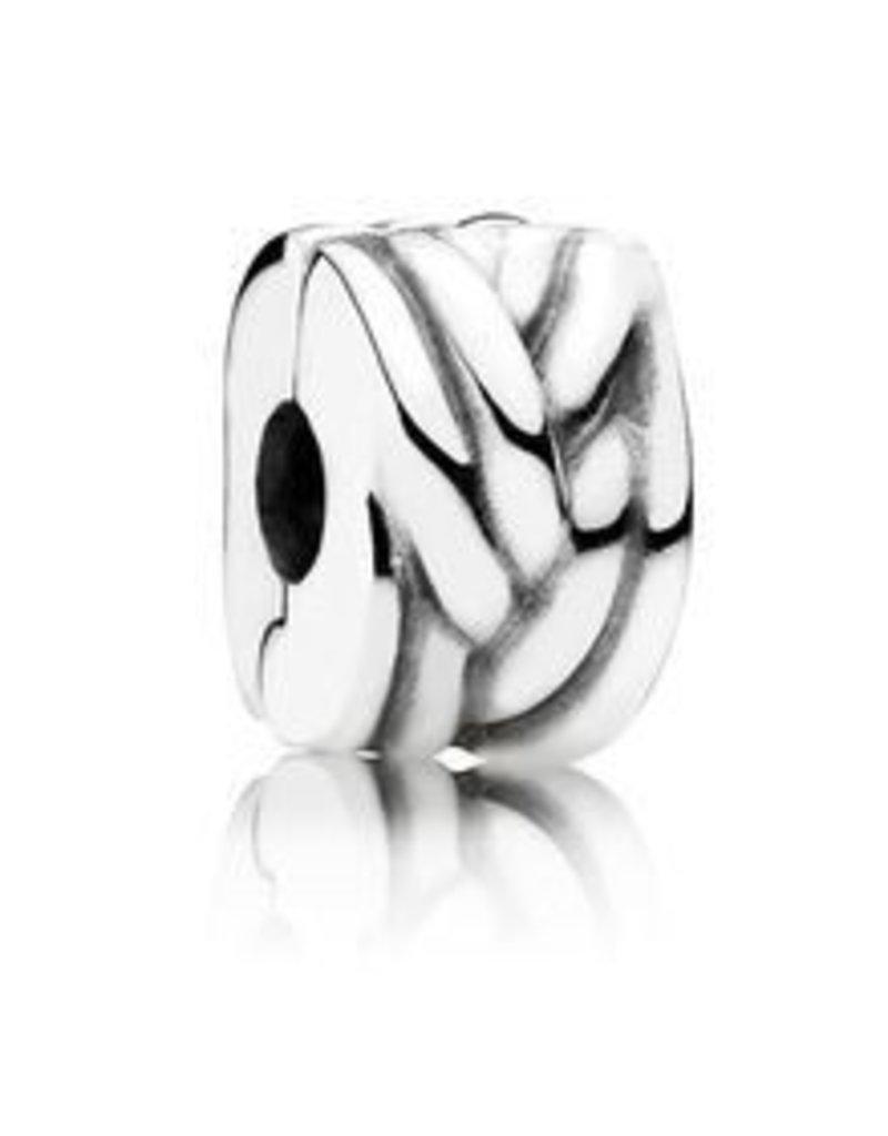 Pandora Jewelry Clip Braided