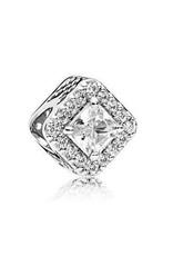 Pandora Jewelry Charm Geometric Radiance, Clr Cz