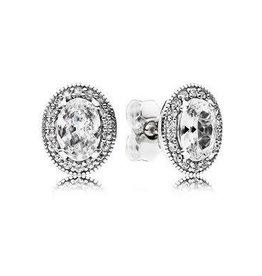 Pandora Jewelry Earring Vintage Elegance, Clr Cz