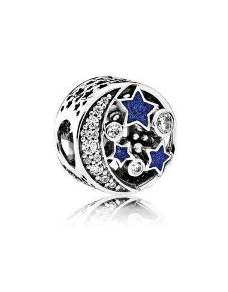 Pandora Jewelry Charm Vintage Night Sky