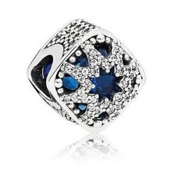 Pandora Jewelry Charm Glacial Beauty Swissblu Cry Clr Cz
