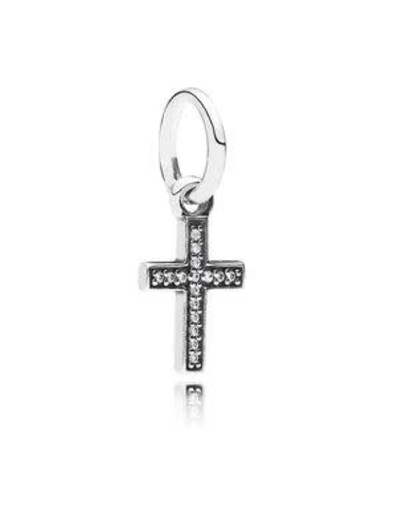 Pandora Jewelry Dangle Symbol of Faith Clr CZ