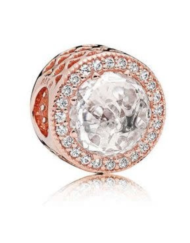 Pandora Jewelry Charm Radiant Hearts ROSE Clr Cz