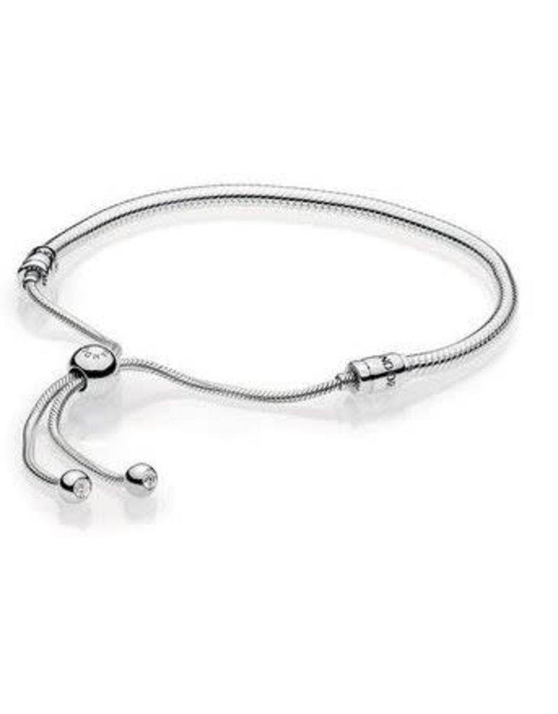 Pandora Jewelry Sterling Silver Sliding Bracelet