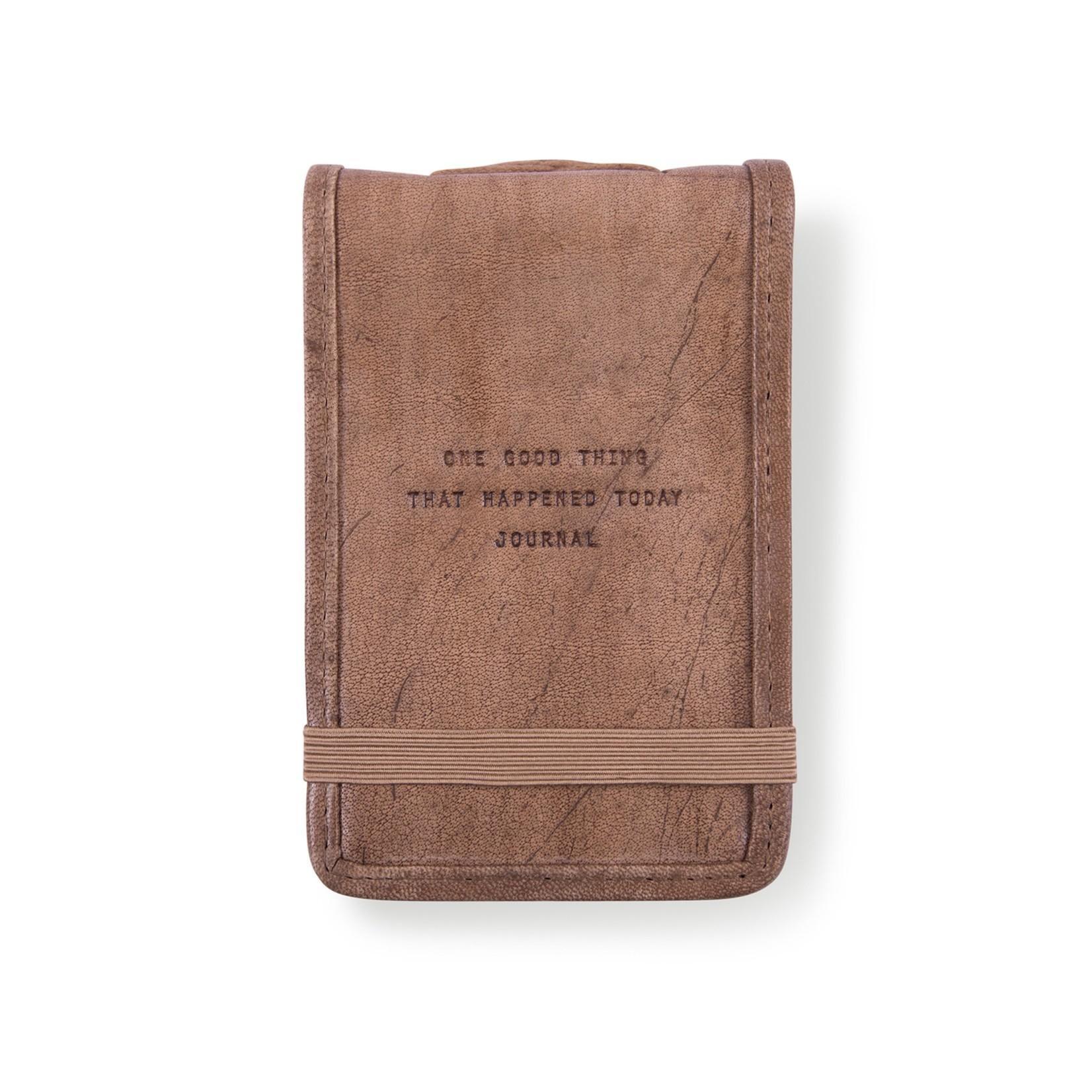 Mini Leather Journal