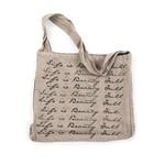 Life is Beauty Full Messenger Bag