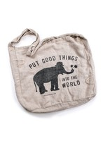 Put Good Things Messenger Bag