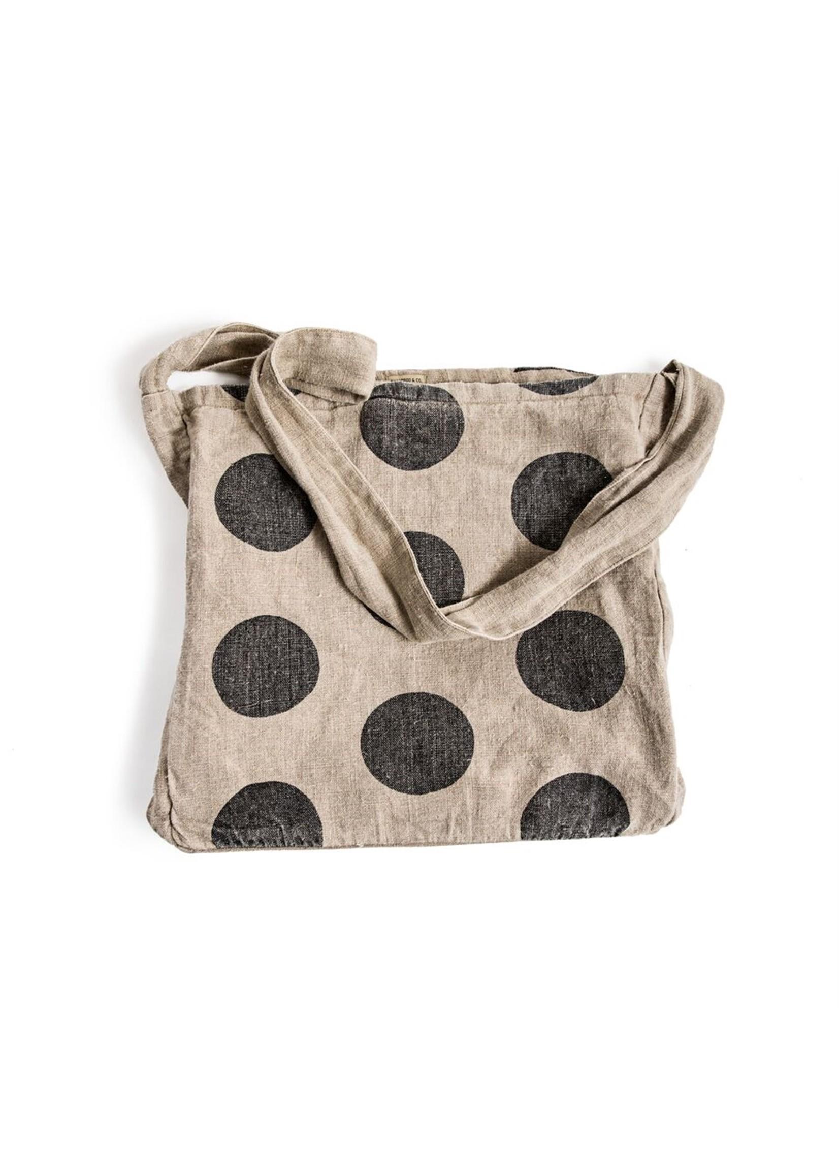 Polka Dot Messenger Bag