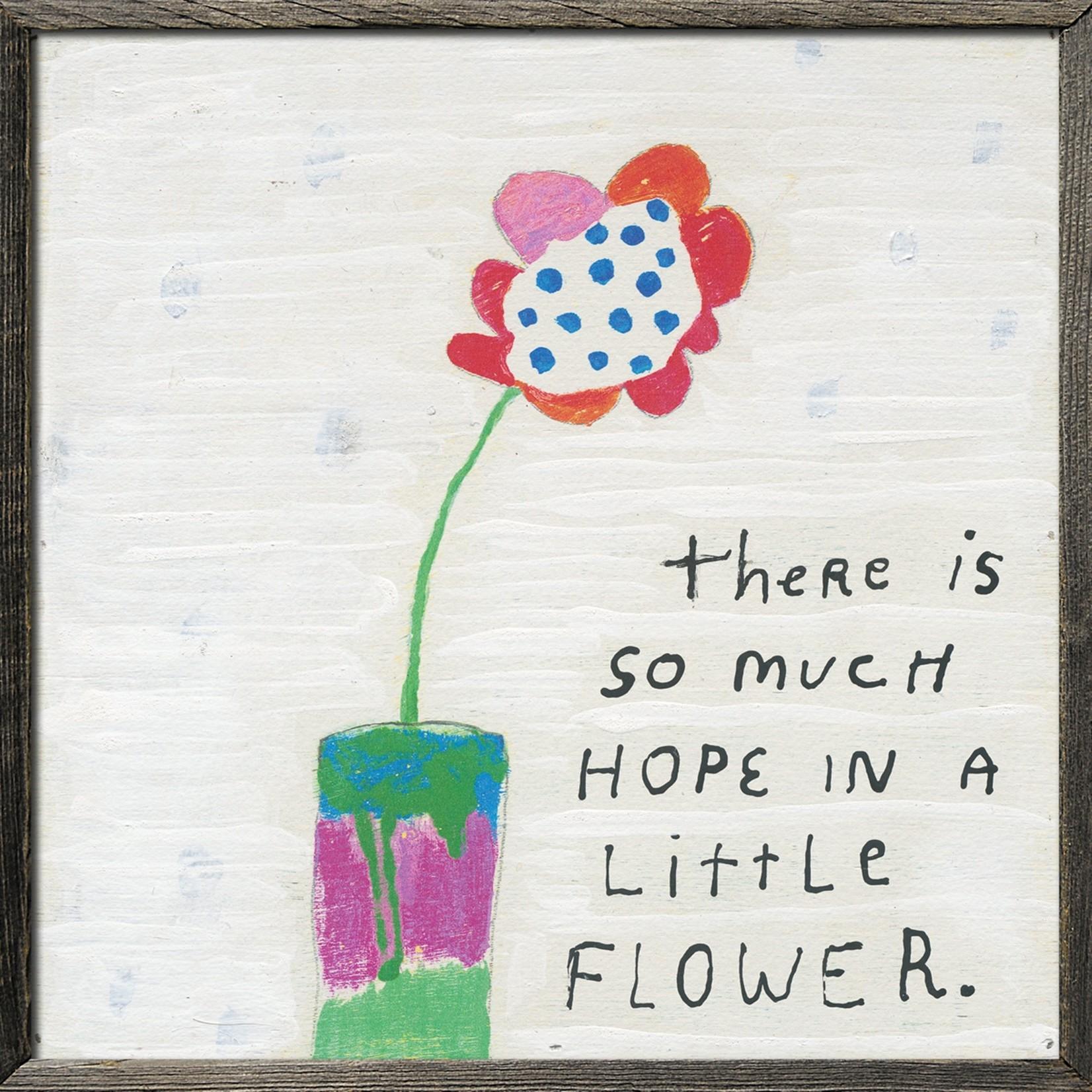 AP 379 GW So much hope Flower 24,5x24,5