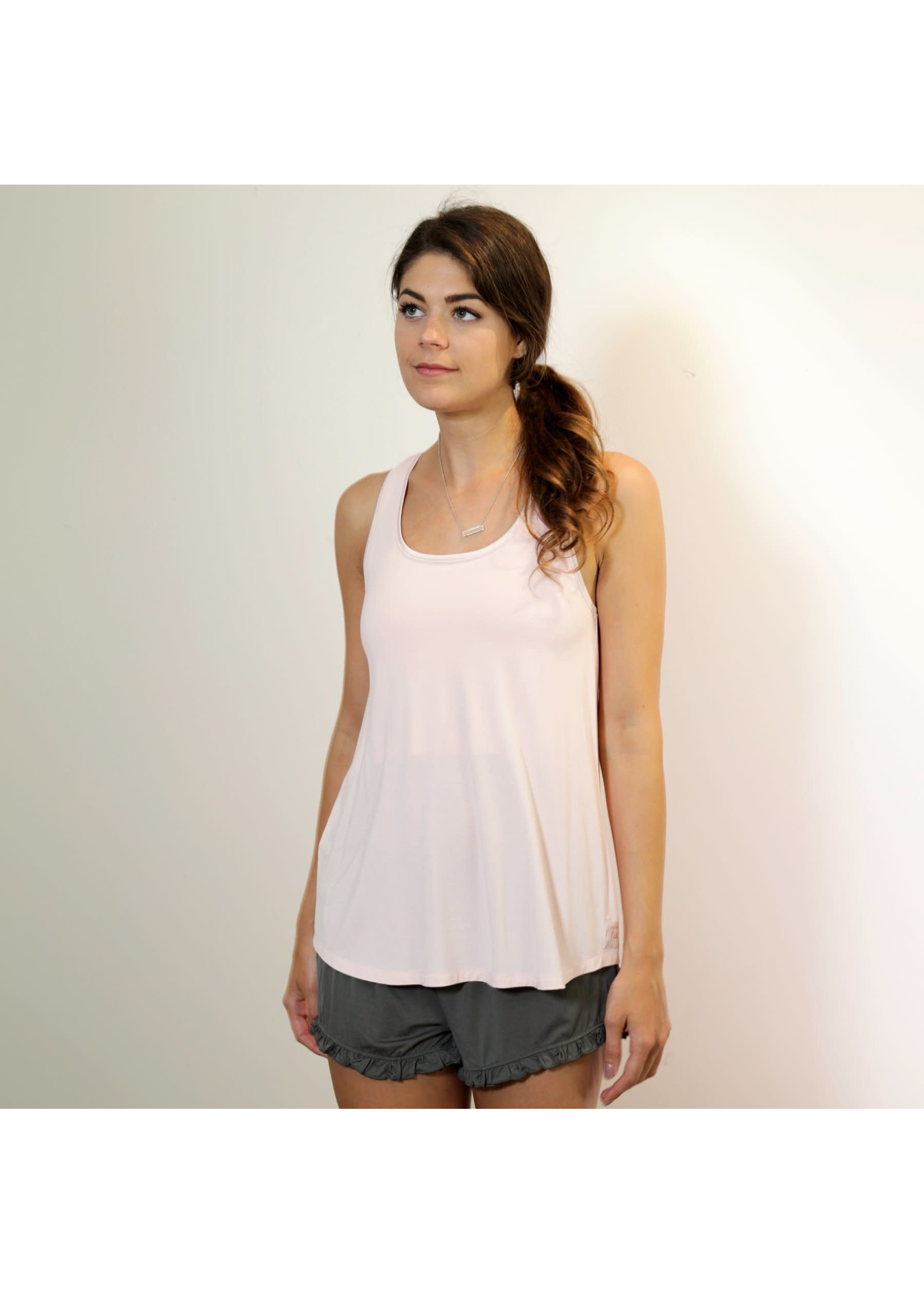 Face Plant Dreams T-Back Relax Tank Bamboo