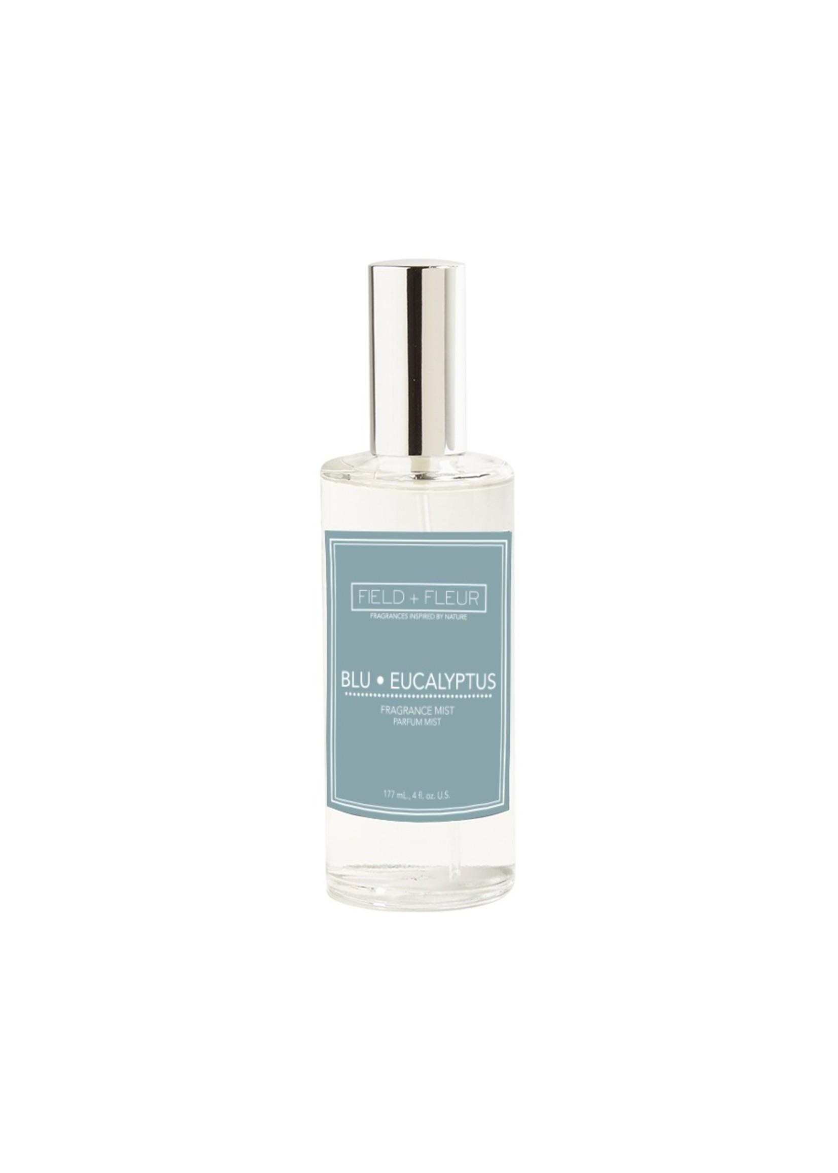 Hillhouse Naturals Fragrance Mist 4 oz Blu Eucalyptus