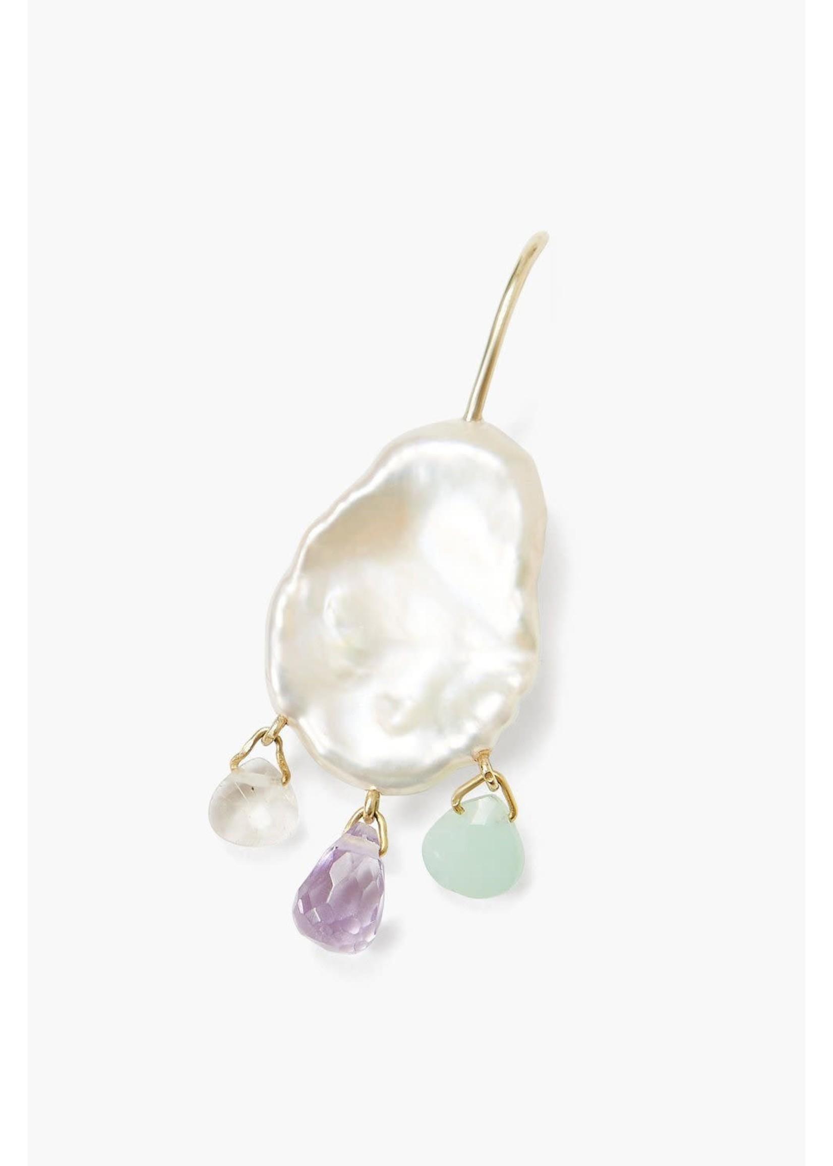 Chan Luu EG-5378 White Pearl Mix