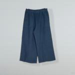 Easy Crop Linen Pant
