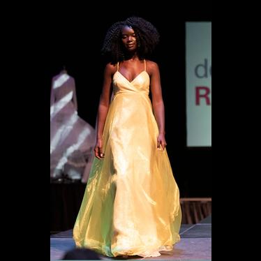 Dean Renwick Glitter Sun Gown