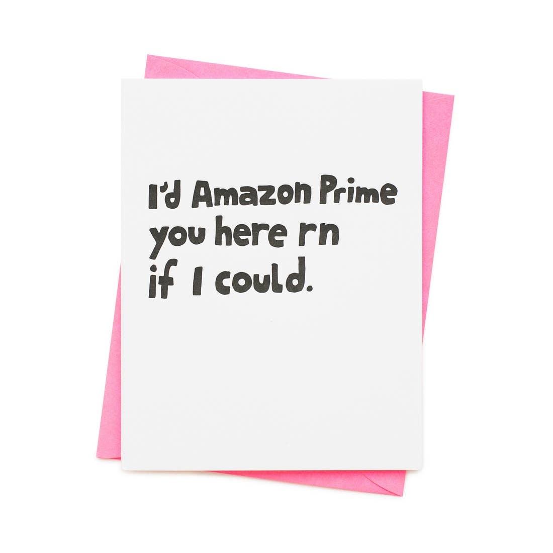 ASHKAHN & CO Amazon Prime You Card