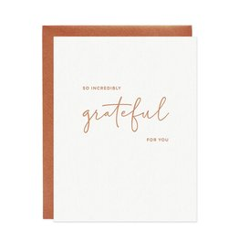 MISSIVE Incredibly Grateful Card