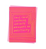 ASHKAHN & CO Infinite Positivity Card
