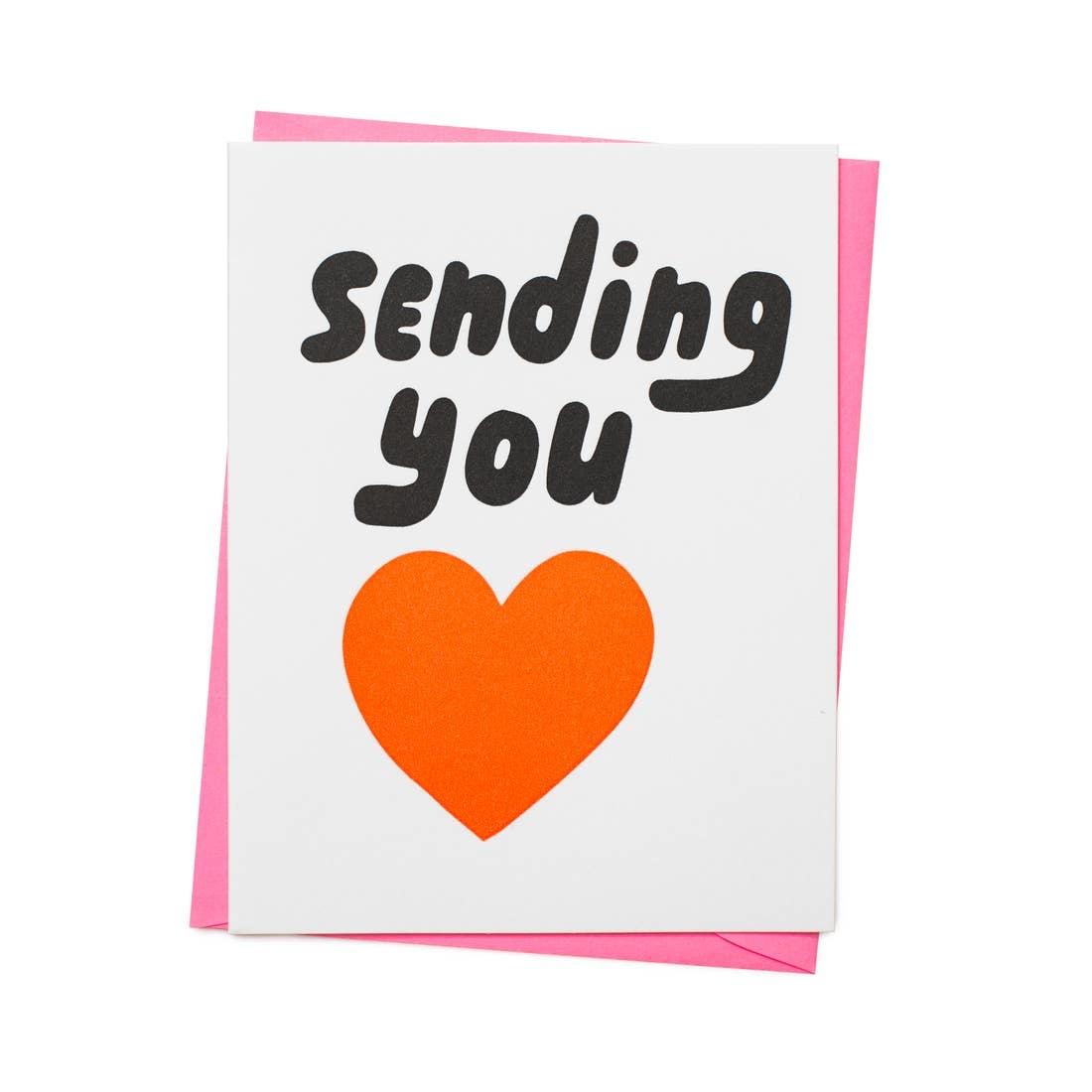 ASHKAHN & CO Sending You Heart Card
