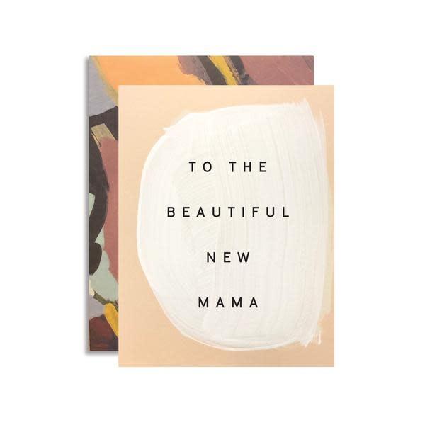 MOGLEA Beautiful New Mama Card