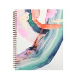 MOGLEA Hand Painted Spiral Notebook